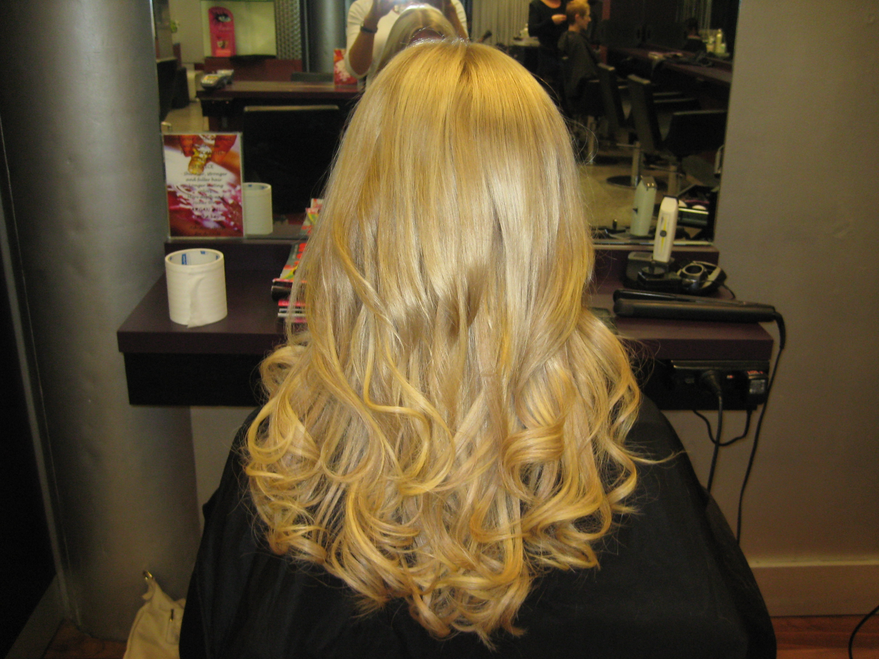 Hair Extensions With Blonde Tips With Hair Extensions Blonde