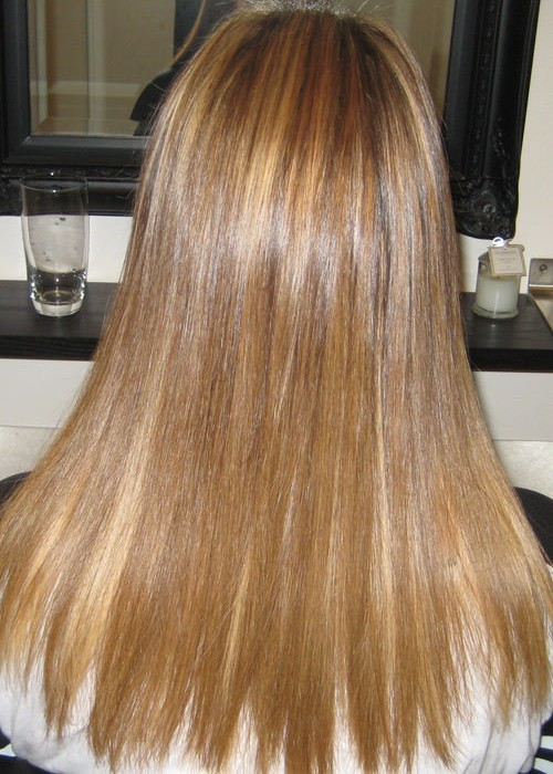 Before And After Hair Extensions Image Portfolio